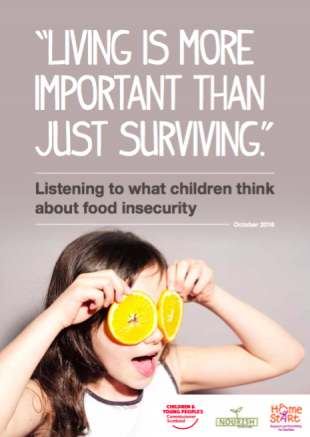 Living is more than just surviving report cover