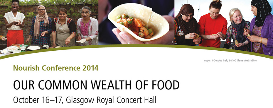 Nourish Conference 2014 - Our Common Wealth of Food