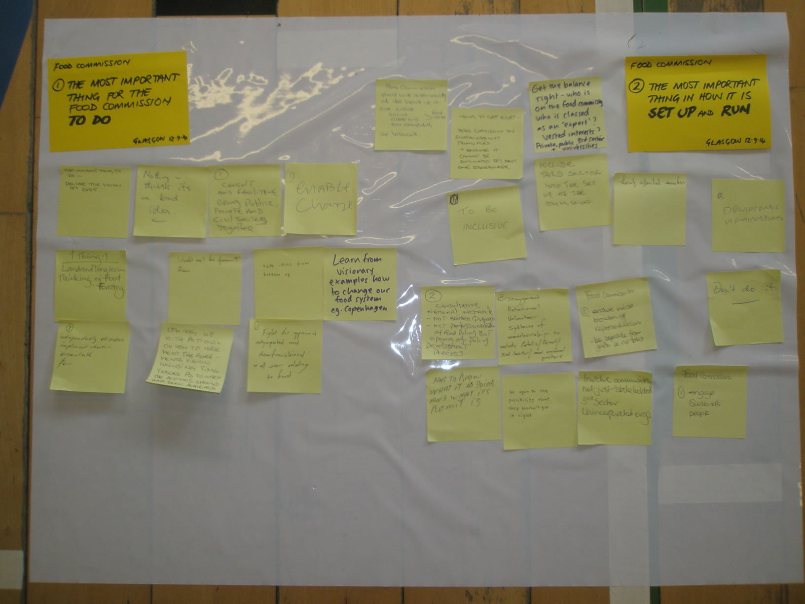 Glasgow consultation event 46
