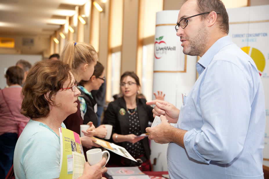 Nourish Scotland conference 2014  - stalls24