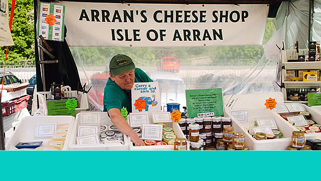 Arran cheese shop slide