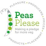Pease Pleas logo, including the five Ps: Pleasure, Producers, Prices, Placement, Products