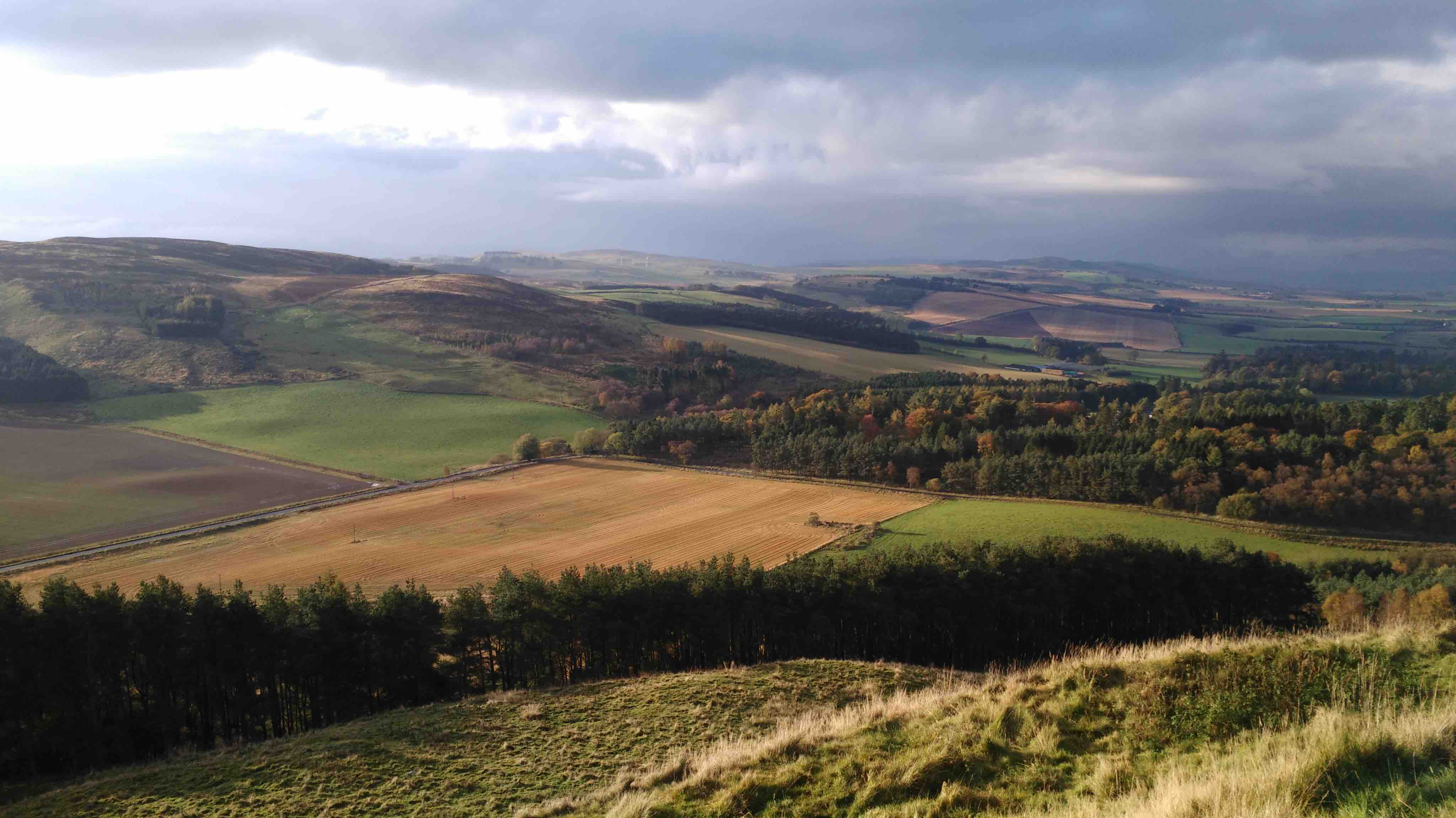 Rural landscape in Perthshire