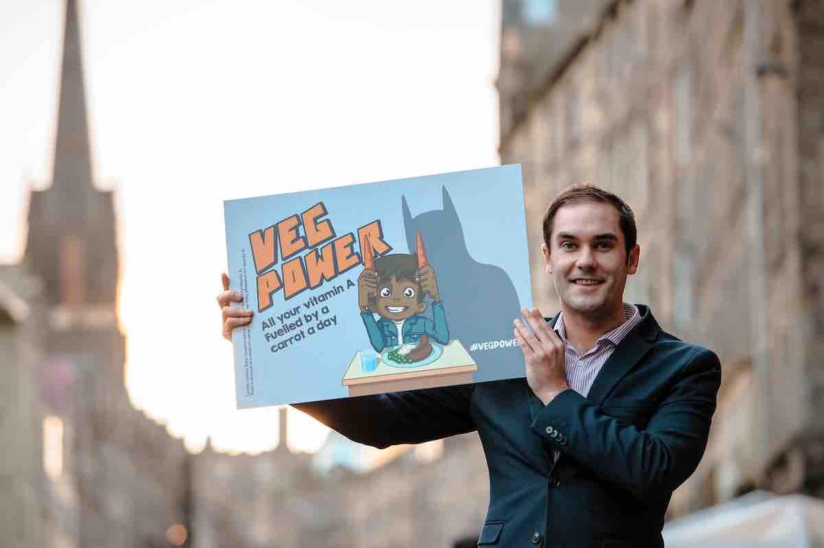 Edinburgh Council Leader Cllr Adam Mcvey Helps To Launch A