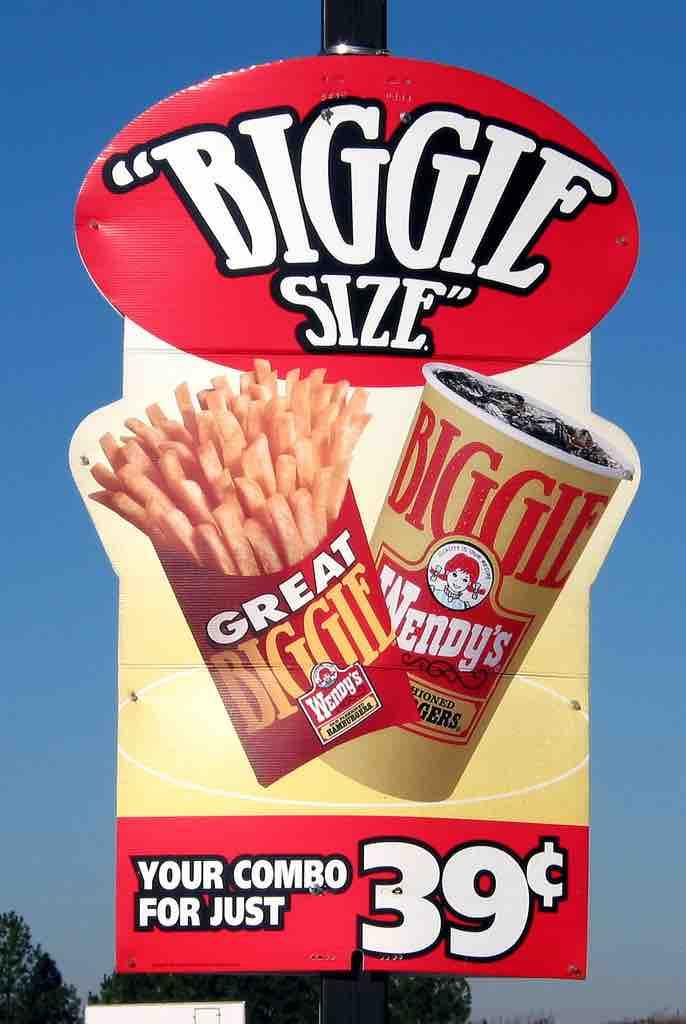 Junk food promotion