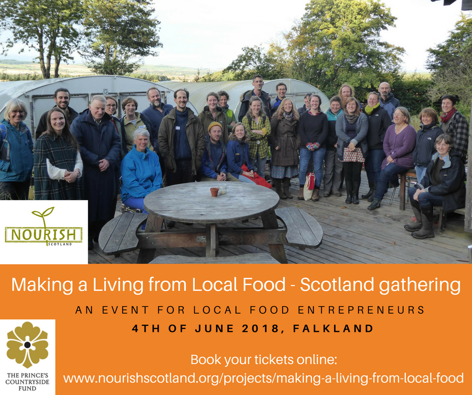 Making a Living from Local Food Scotland Gathering @ Falkland Centre for Stewardship