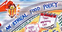 Towards an ethical food policy graphic recording