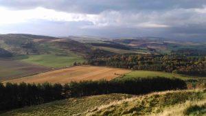 Rural landscape in Perthshire