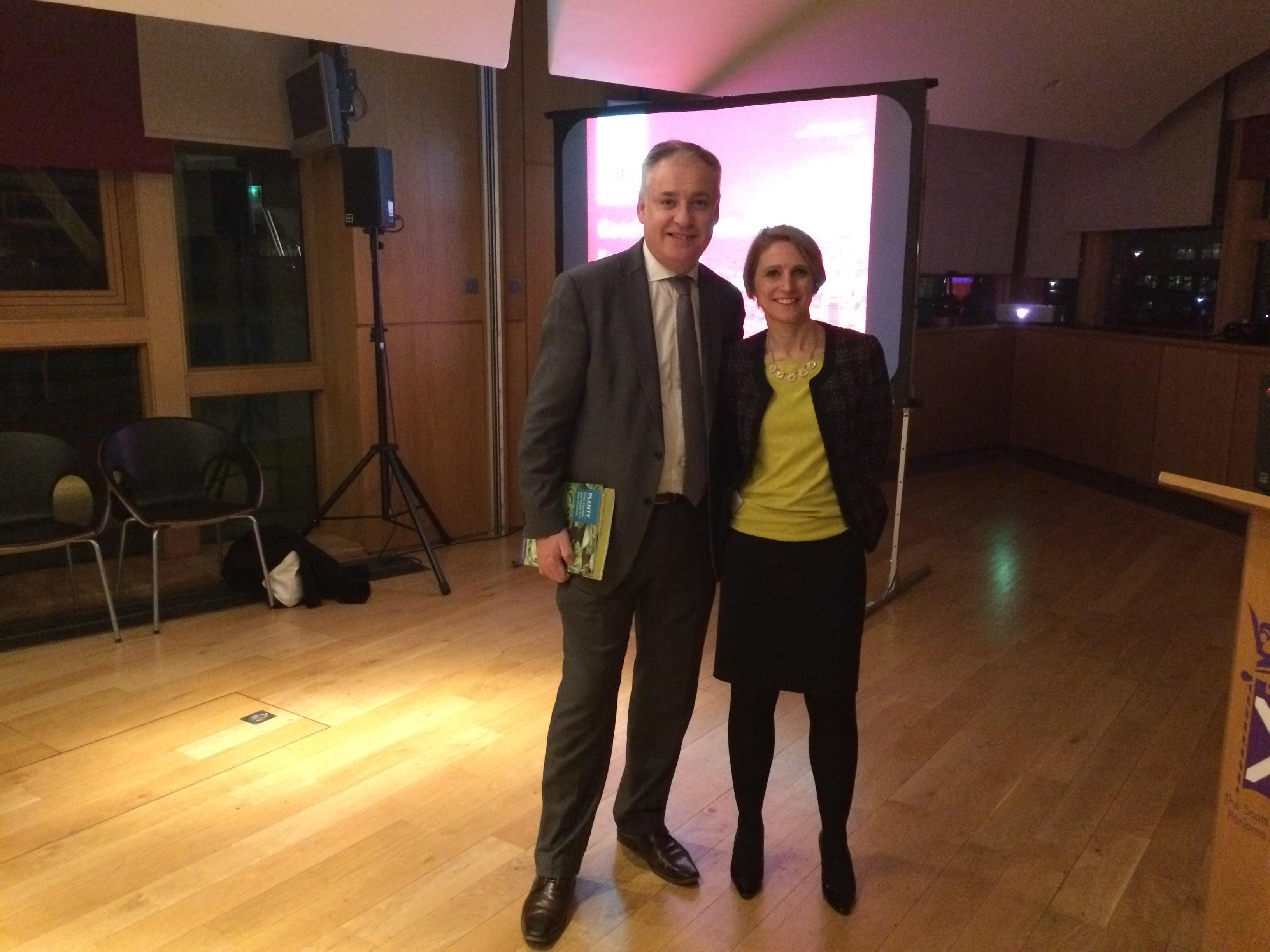 Professor Corinna Hawkes and Richard Lochhead MSP kick off Good Food Nation events
