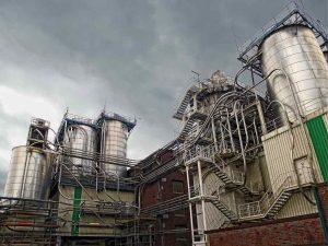German starch factory