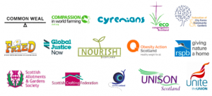 Signatory organisations to the Kitchen Table Talks Report