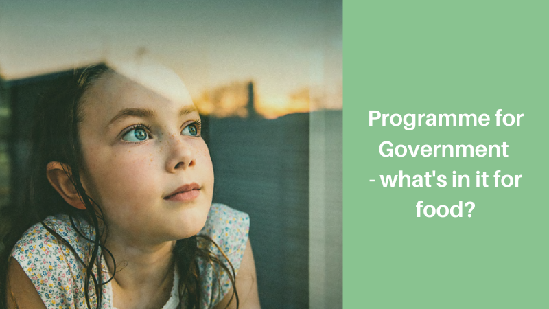 Programme for Government – what's in it for food?