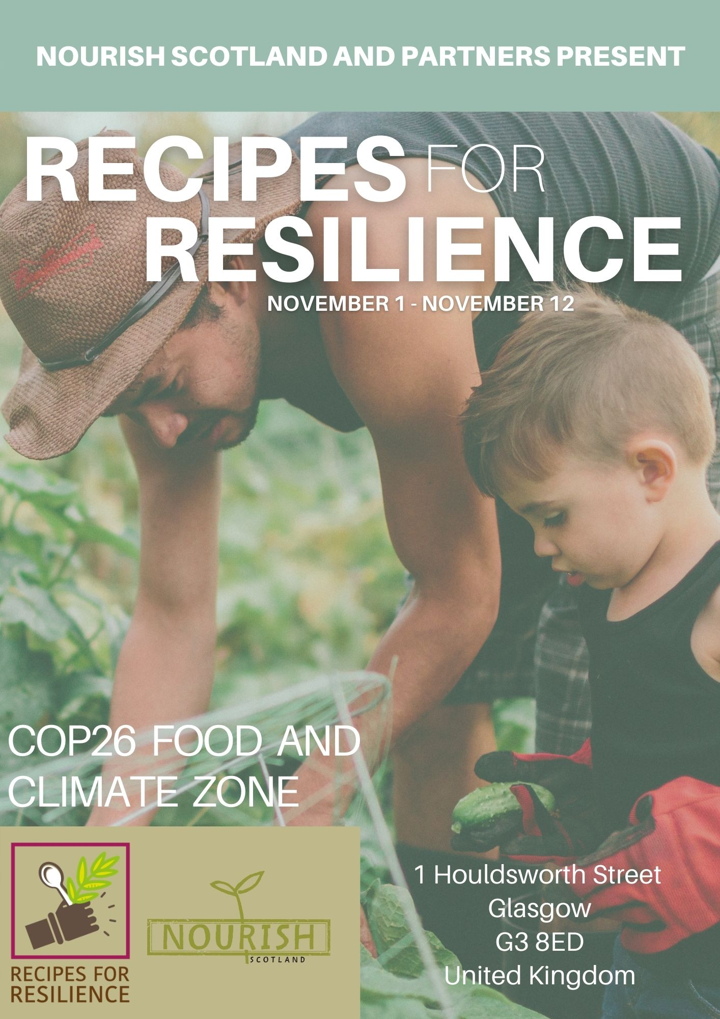 Recipes for Resilience Event Programme